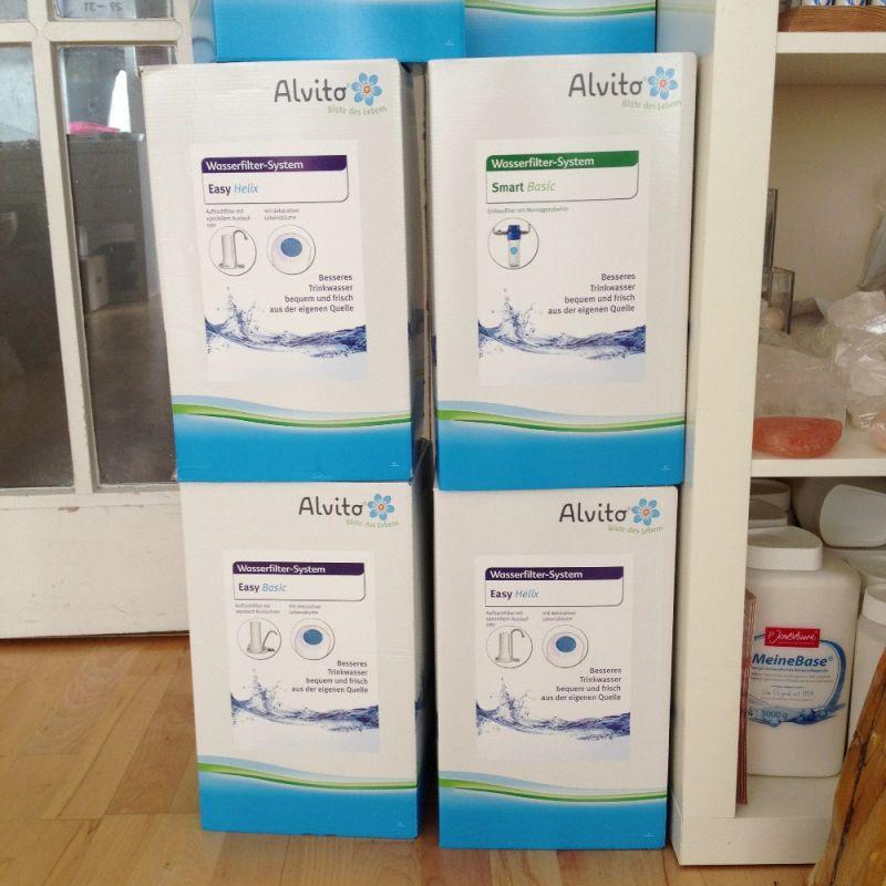 Wasserfiltersysteme von Alvito, Auftischvariante Easy Helix und Easy Basic sowie der Einbaufilter Smart Basic - Steinkreis Mineralien & Gesundheit - Stuttgart- Bild 1