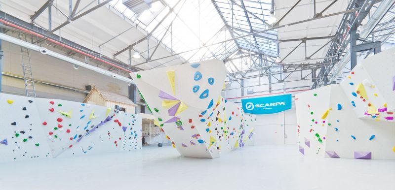 Stuntwerk-Boulderhalle in Köln