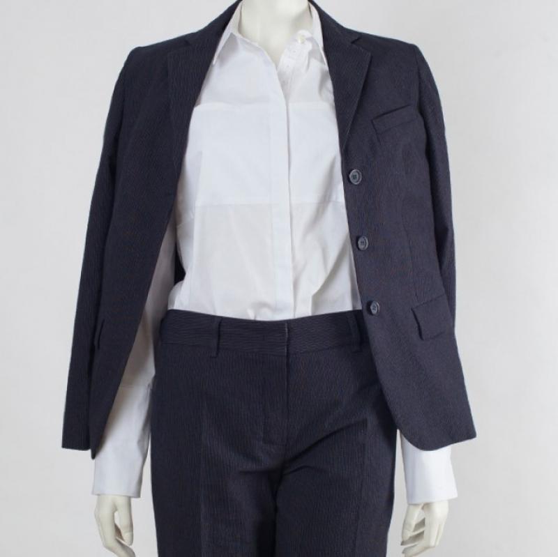Anzug Baumwolle, Bluse Baumwolle / Lycra - Ilse Stammberger - Köln