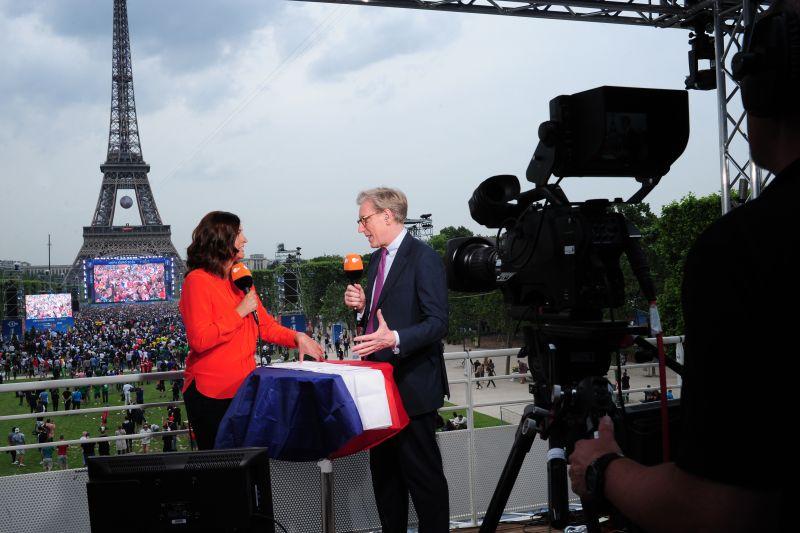 Antje Pieper , Theo Koll Copyright: ZDF/Agnes Dherbeys