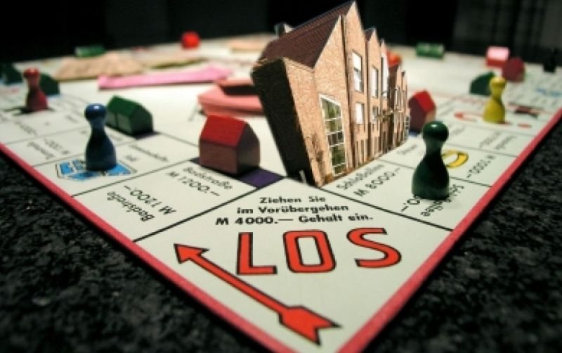 Monopoly Spielbrett - (c) Meyhome  /http://www.pixelio.de/media/121669