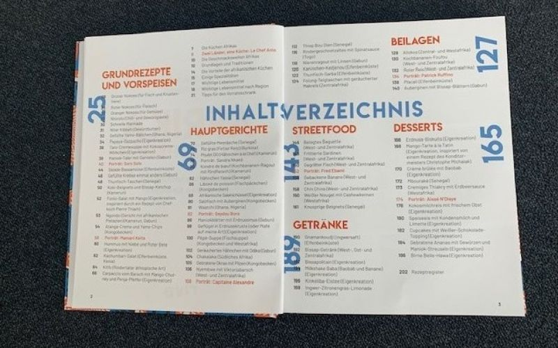 Afrika - Das Kochbuch / Riva Verlag / Le Chef Anto / Aline Princet