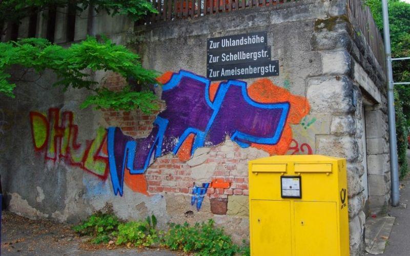 Graffitti in Stuttgart - (c) Alexander Kappen