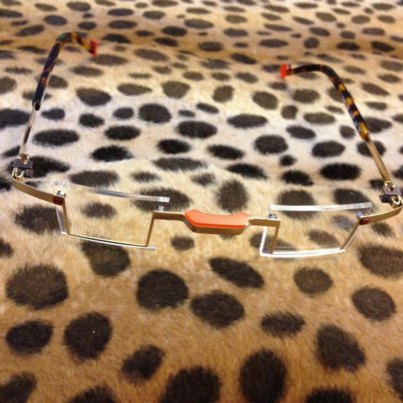 Brille von de stijl holland 1924 - Augenart Brillen - Kunst & mehr - Ettlingen