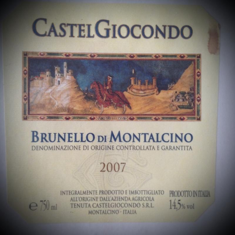 Castel giocondo ( Toscana ) 2007 - Ristorante Etrusca - Köln