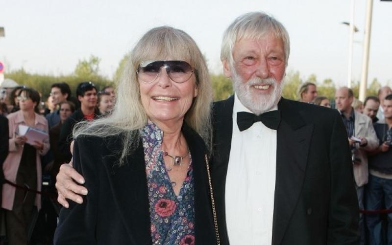 Vivi Bach und Dietmar Schönherr im Oktober 2005 bei der Verleihung des Deutschen Fernsehpreises in Köln - (c) Sean Gallup / Getty Images
