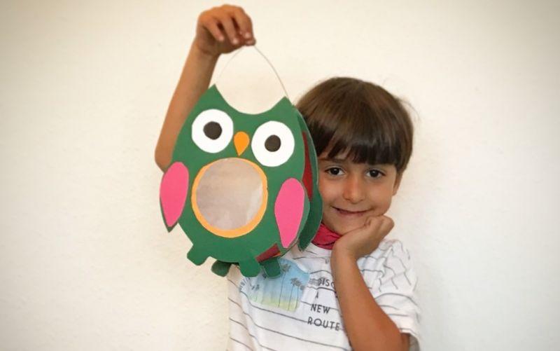 Laternenbasteln mit Kindern - (c) Arzu Alev-Kayvani | stadtmagazin.com