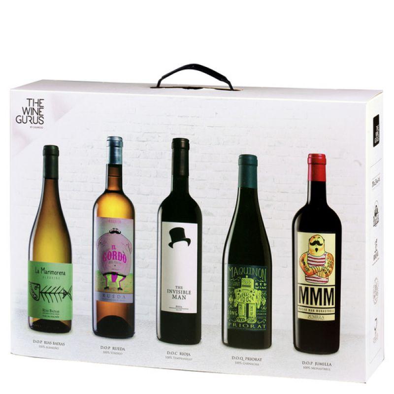 La caja blanca - Die weisse Box  Ein perfektes Geschenk für alle Spanien Liebhaber. Beinhaltet 5 Weine, die für Ihre Region stehen. Jeder einzelne Wein ist mit mehreren Preisen ausgezeichnet, hier wäre nicht genügend Platz sie alle zu erwähnen -  uns schmecken alle! www.aromakost.de - aromakost - Ludwigsburg