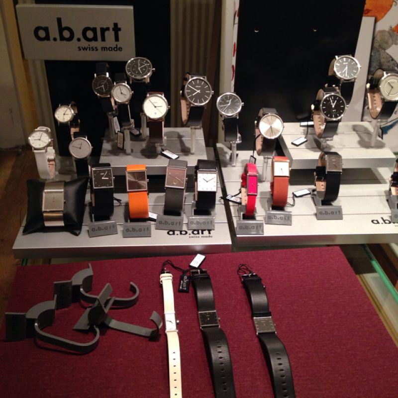 a.b.art swiss made Uhren - Schmuck & Kunst M.Erlewein - Ulm