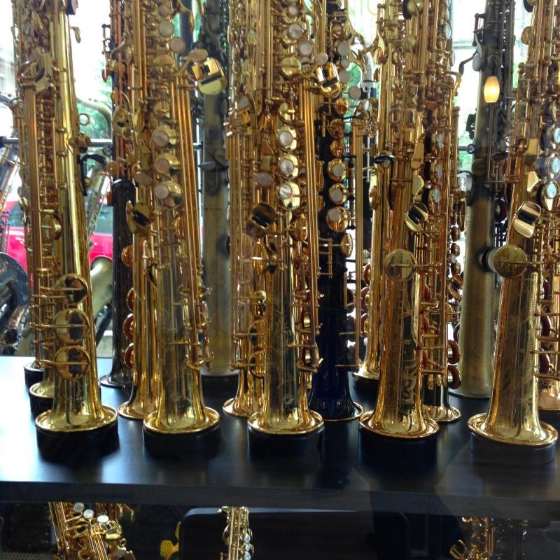 Sopran Saxophon  - Josef Distler - Holzblasinstrumente - Stuttgart- Bild 1