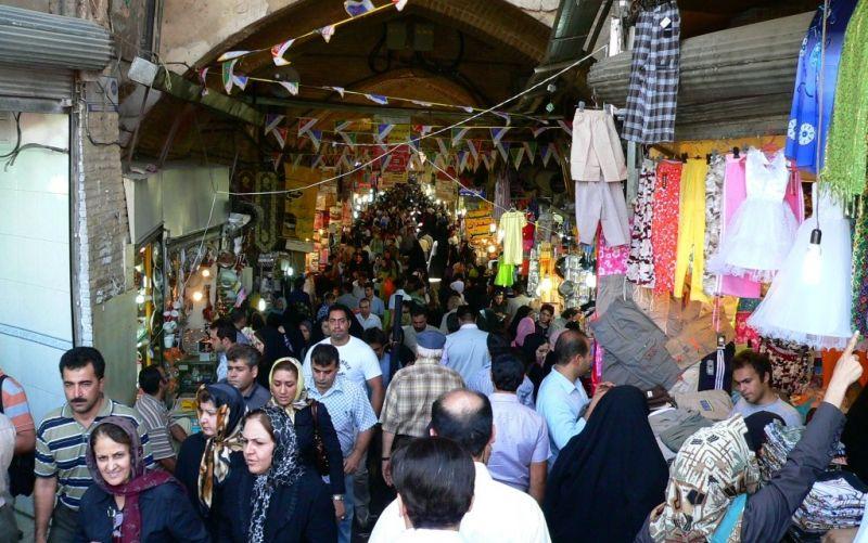 Basar in Teheran - (c) Gerhard Bulyga / http://www.pixelio.de/media/391346 / Basar in Teheran