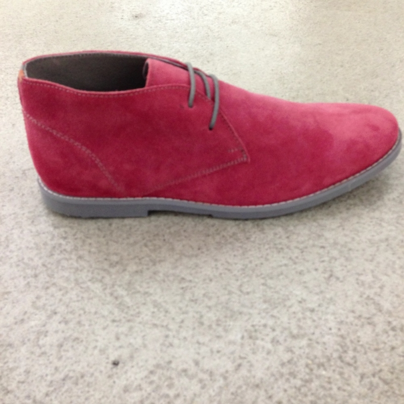 Frank Wright Bridges in strawberry suede - chacha-store® Ludwigsburg - Ludwigsburg