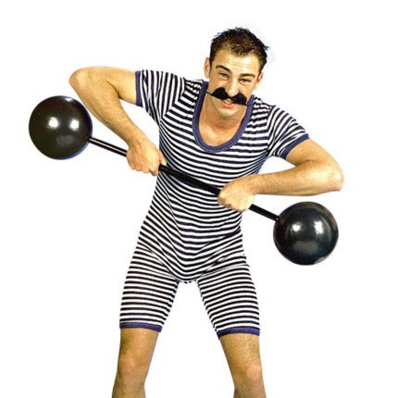 gewichtheber-anzug-blauweiss<br> Dieser süße, blau-weiße Ringelanzug ist genau das richtige Kostüm für starke und durchtrainierte Jungs, die an Karneval zeigen wollen, wieviel Muckis in Ihnen stecken. <br> Home/Kostüme/Berufe/Herren<br> [http://www.pierros.de/produkt/gewichtheber-anzug-blauweiss, jetzt auf Pierros.de kaufen]  - PIERRO'S in Mayen - Mayen