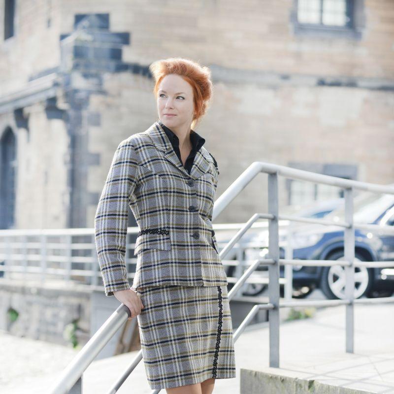 Baker Street  Kostüm aus englischer Wolle - Marion Muck - Mode Made in Germany - Köln