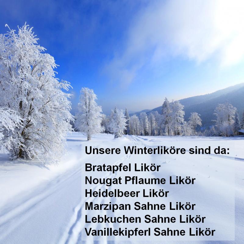 Bratapfel und Heidelbeer Likör, heiß und kalt ein Genuss. - Spirit - Homburg