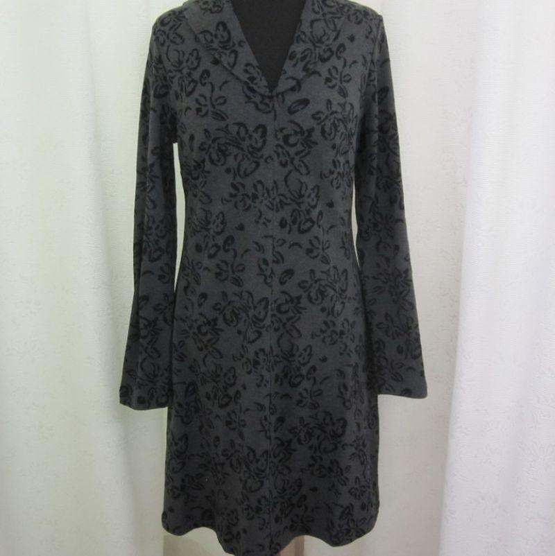 Finesse Kleid Grau gemustert. - Ingrid Moden - Augsburg