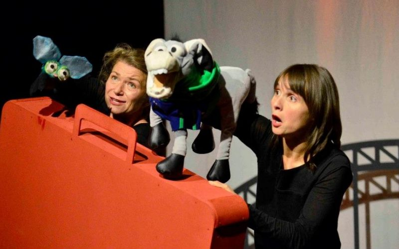 Fridolino in Köln, Theaterstück - (c) Engel & Esel Produktionen, Thandiwe Braun