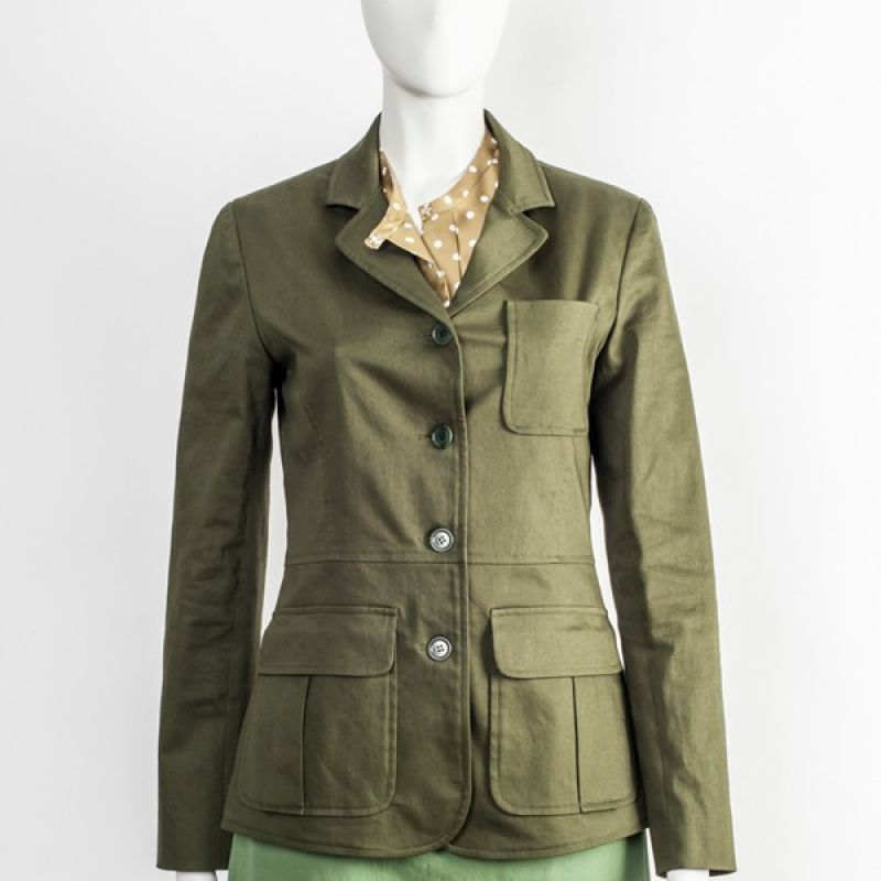 Rock Baumwolle / Lycra Bluse Seide Jacke Organic Cotton  - Ilse Stammberger - Köln- Bild 1