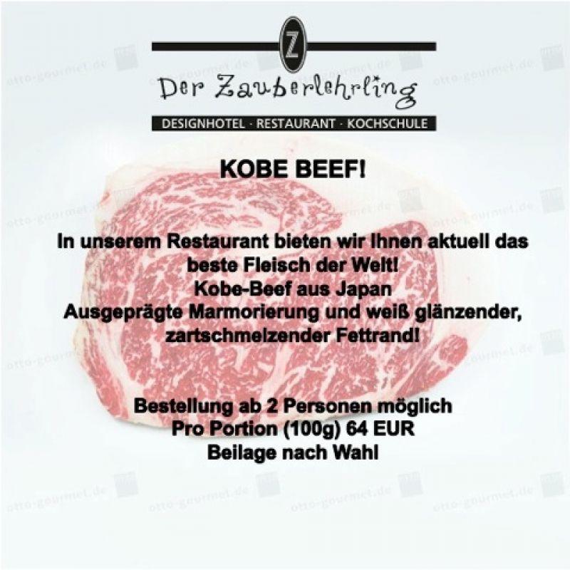 KOBE BEEF! Bestellung ab 2 Personen möglich. - Restaurant Der Zauberlehrling - Stuttgart