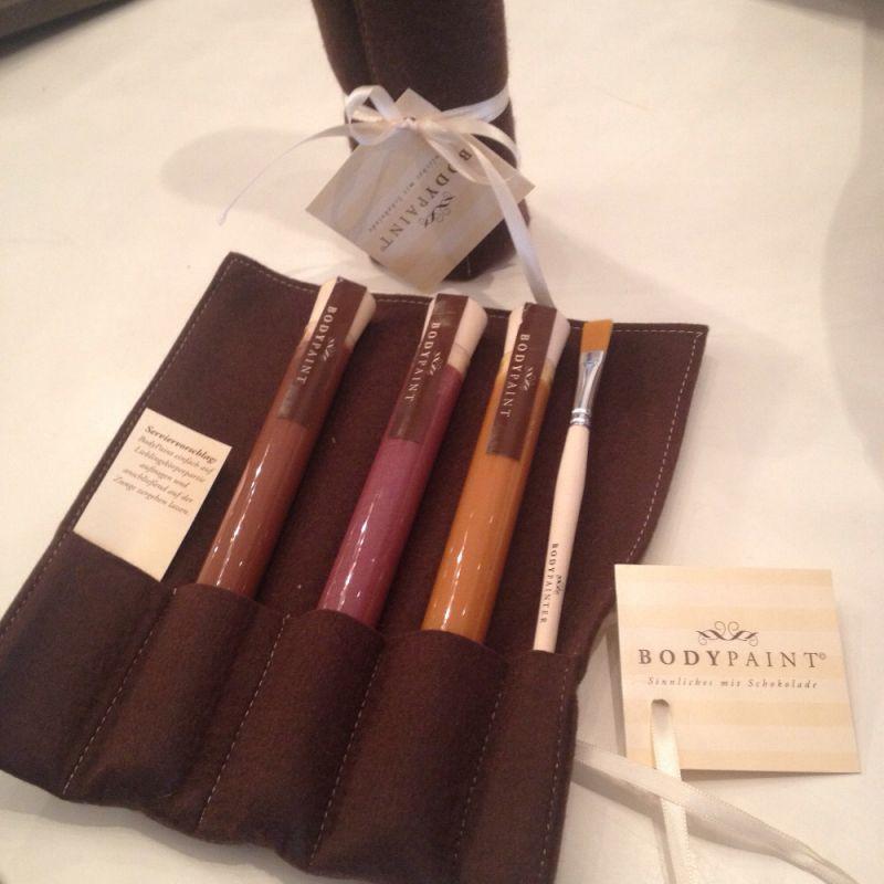 Bodypaint Schokolade bei Bitter Süss in Aussburg - Chocolaterie BitterSüß - Augsburg