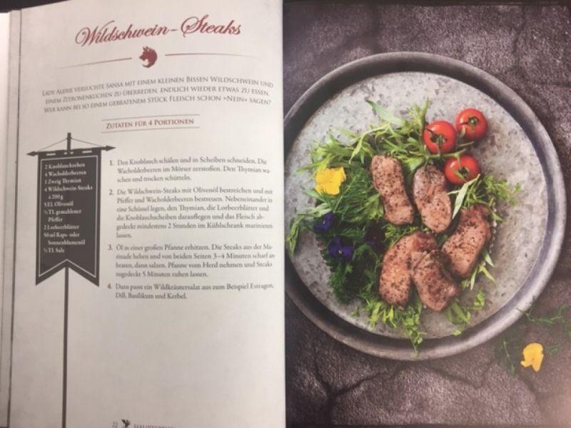 Das inoffizielle Kochbuch zu Game of Thrones / Patrick Rosenthal / Riva Verlag / Christine Pittermann