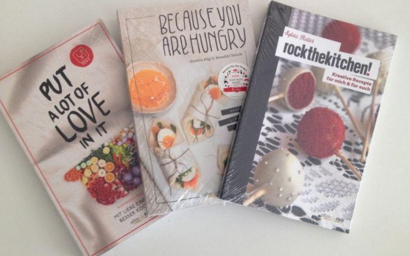 Kochbücher Food-Blogger - (c) stadtmagazin.com Anna Brinkmann