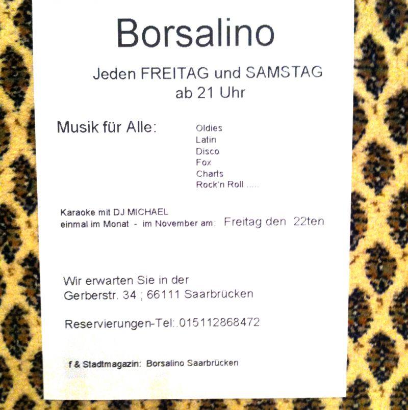 Eintrag #8824 - Borsalino Tanztreff - Saarbrücken