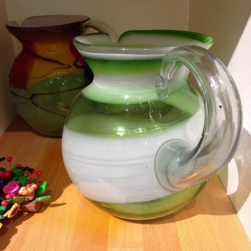 Mundgeblasenes Glas aus Mexico - LUNA VIVA - Schorndorf
