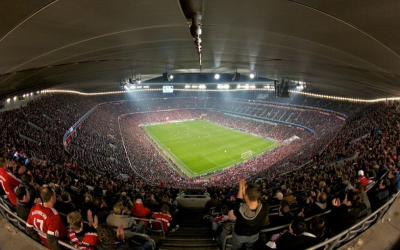 - (c) https://www.flickr.com/photos/cznr/5551222574/FCB vs Inter/Christian Zeiner/ Allianz Arena 2011