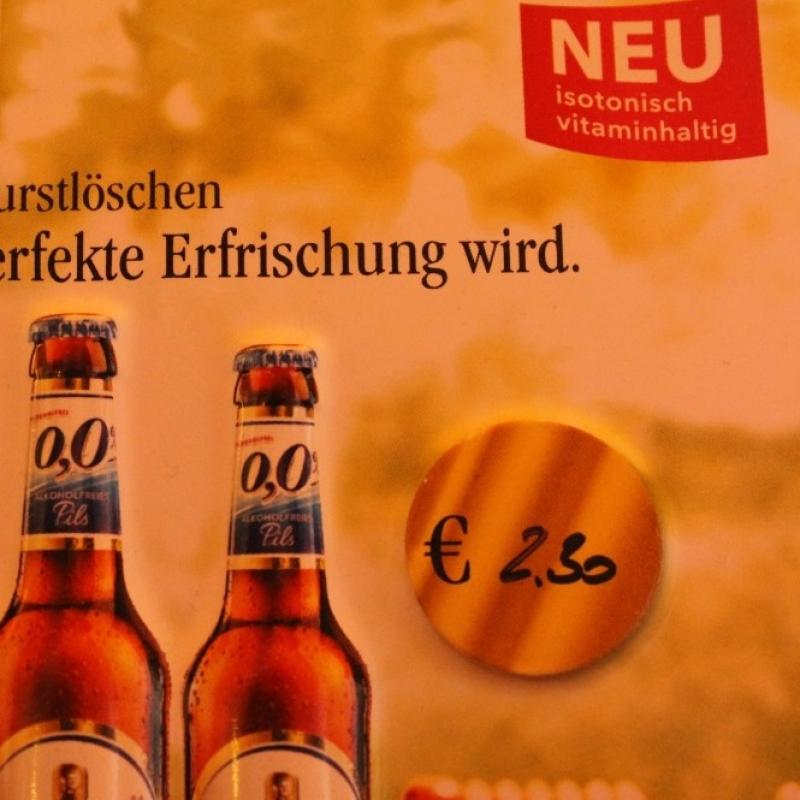 Bitburger Alkoholfrei - Zur Andau - Mainz