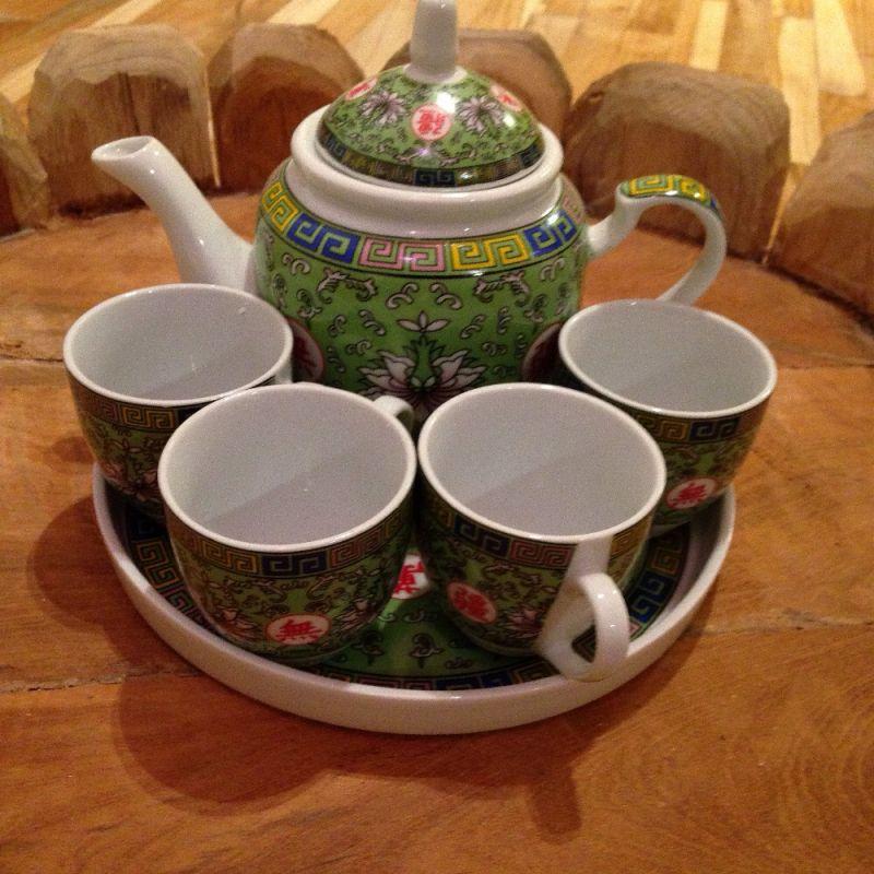 Chinesisches Teeservice - Living asia Wohnimpressionen aus Fernost - Ulm