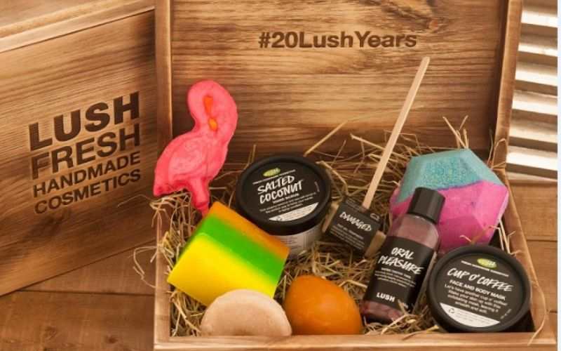 Jubiläumsbox Lush - (c) LUSH GmbH