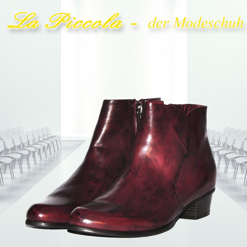 REGARDE LE CIEL STEFANY-87 VAR. 008 GLOVE SANGRIA - La Piccola der Modeschuh - Pulheim- Bild 2