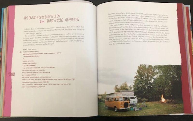 Das VW Camper Kochbuch  / Heel Verlag / Martin Dorey / Sarah Randell