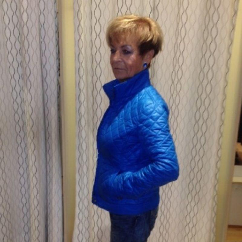 blaue jacke damen hosenladen speyer damenmode. Black Bedroom Furniture Sets. Home Design Ideas