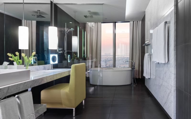 Opera Suite Bathroom - (c) Sofitel Dubai Downtown/https://www.flickr.com/photos/123325273@N07/13867855253/