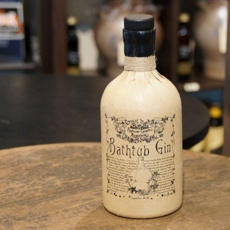 Professor Cornelius Ampleforths Bathtub Gin. Fruchtig exotisch mild. 0,7l Flasche mit 43,3 % Vol. - Probieren & Genießen - Mannheim