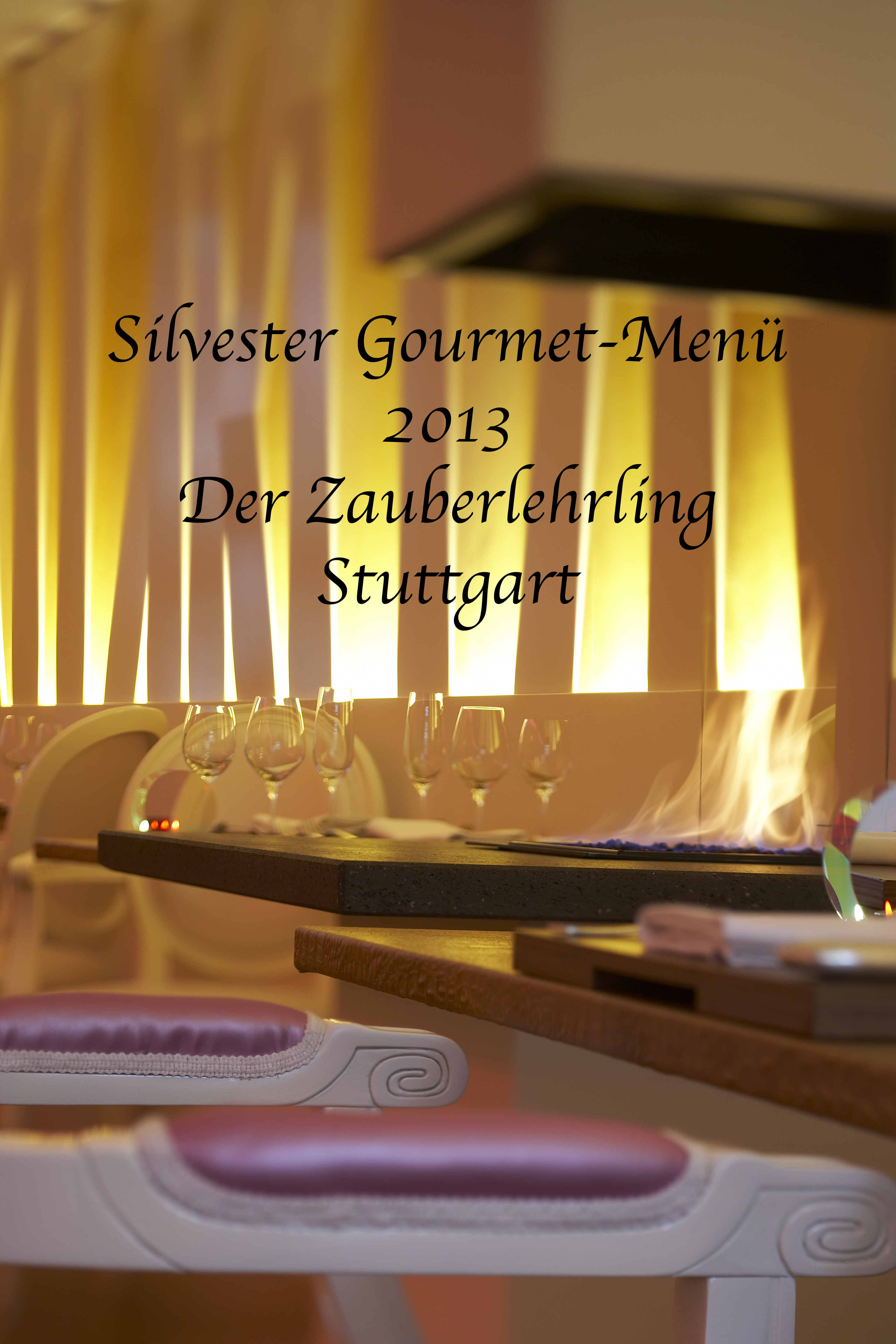 Silvester gourmet men im zauberlehrling stuttgart for Designhotel stuttgart