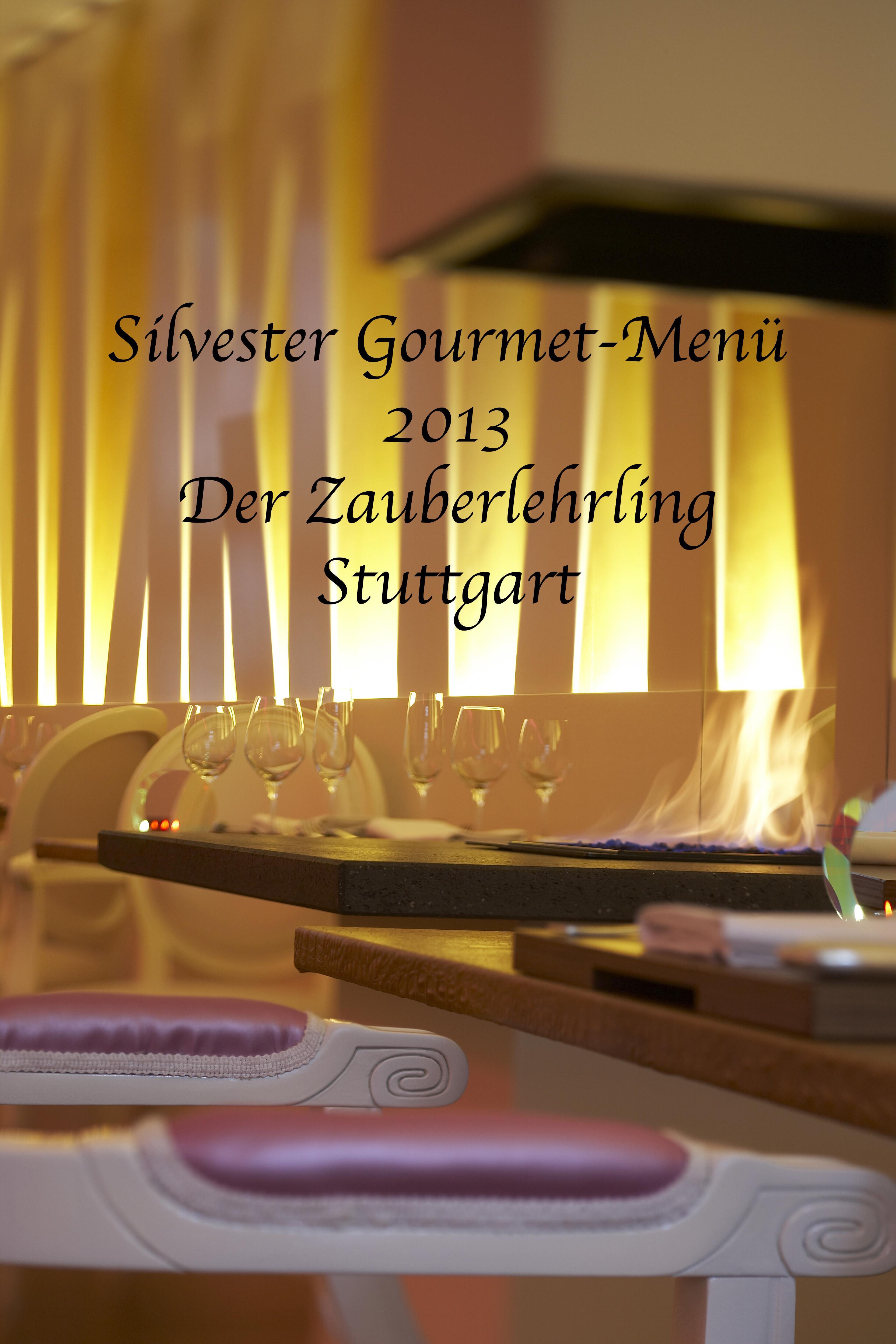 silvester gourmet men im zauberlehrling stuttgart silvester gourmet men 2013 designhotel. Black Bedroom Furniture Sets. Home Design Ideas