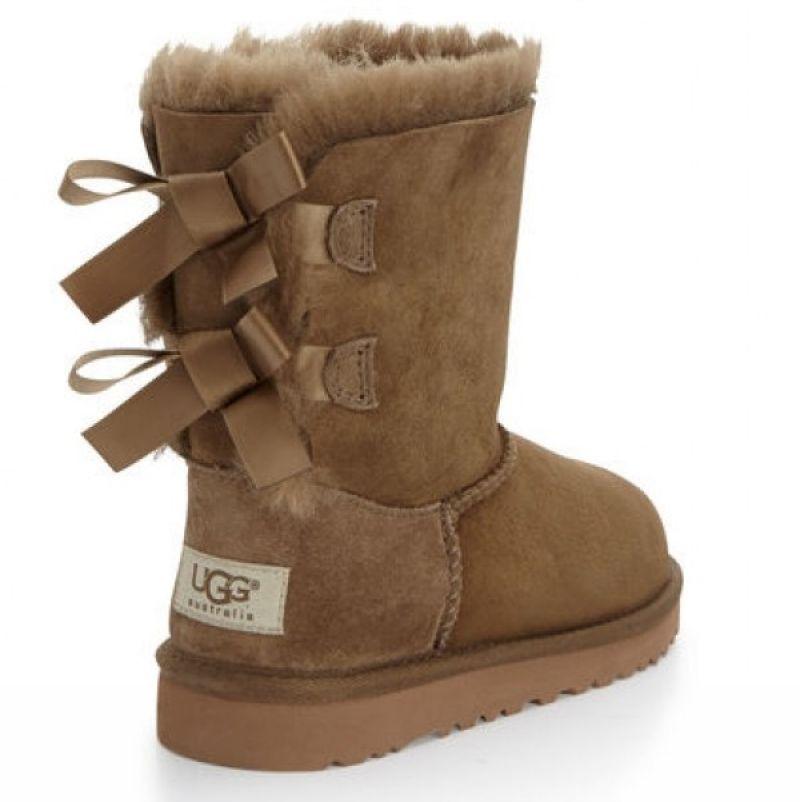 Ugg Boots Braun Mit Schleife