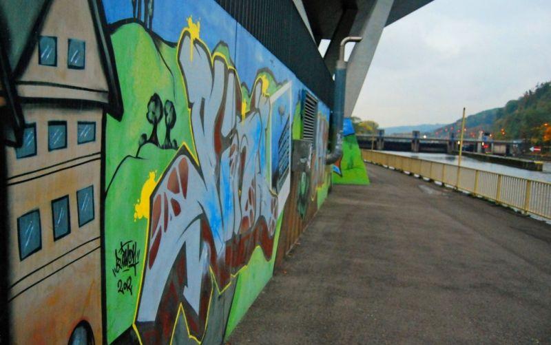 Graffiti in Esslingen - (c) Alexander Kappen