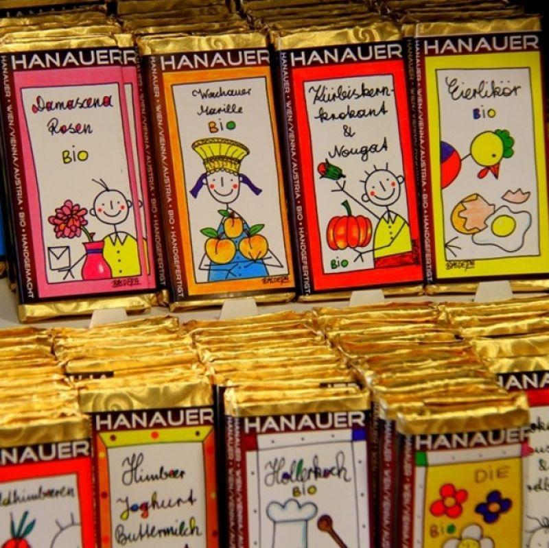 HANAUER BIO Schokolade - Confiserie Selbach - Stuttgart