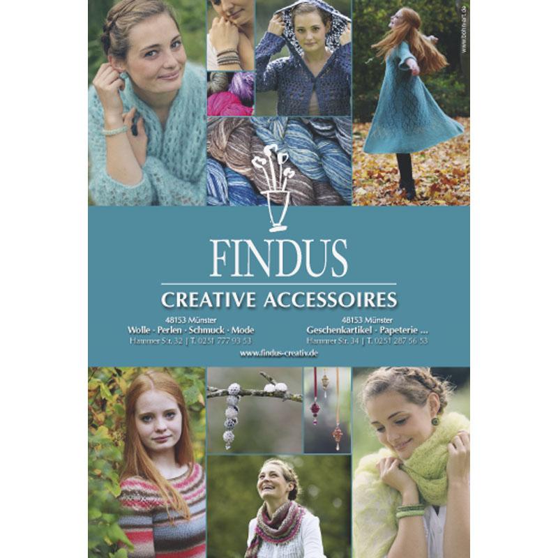 FINDUS Creative Accessoires Wolle Perlen Mode Geschenkartikel Glas Papeterie Postkarten Münsterartikel - FINDUS CREATIVE ACCESSOIRES - Münster