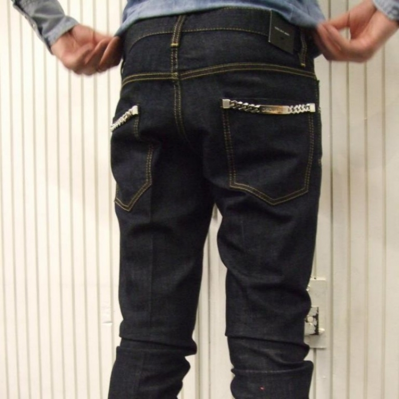 DSquared² Jeans - € 329,- D2H4071 cool guy (raw denim, chains)  - città di bologna - Köln- Bild 1