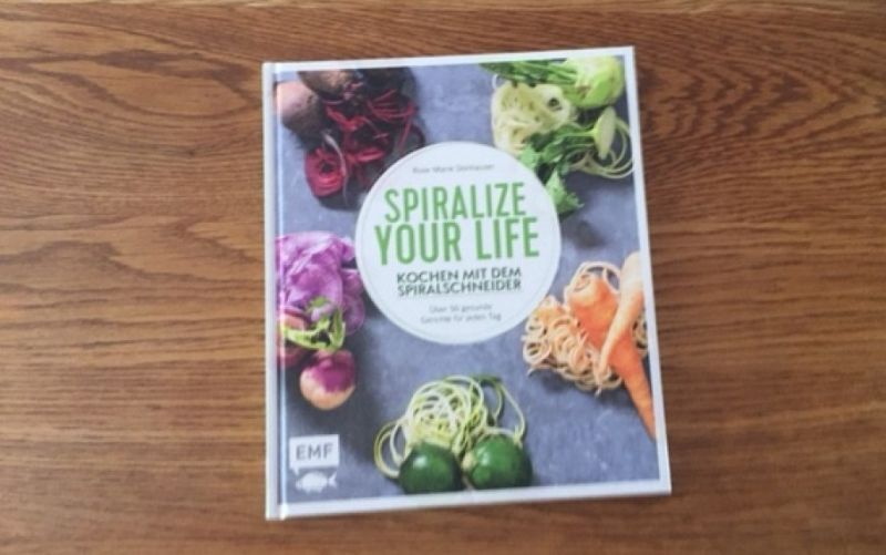 - (c) Spiralize your life - Kochen mit dem Spiralschneider aus dem EMF Verlag / Christine Pittermann