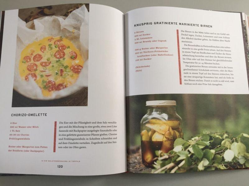 Das Sauna-Kochbuch / Vom Aufguss zum Hochgenuss / Kathariina Vuori / Janne Pekkala / btb Verlag / Christine Pittermann