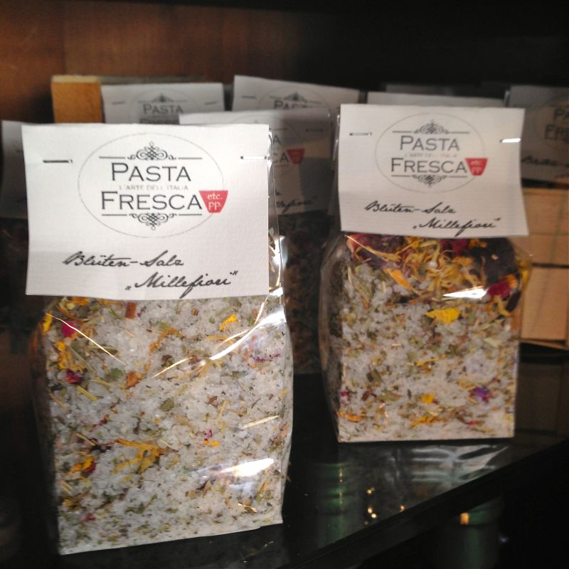 Blüten Salz - Pasta Fresca & Co Feinkost - Kirchheim unter Teck