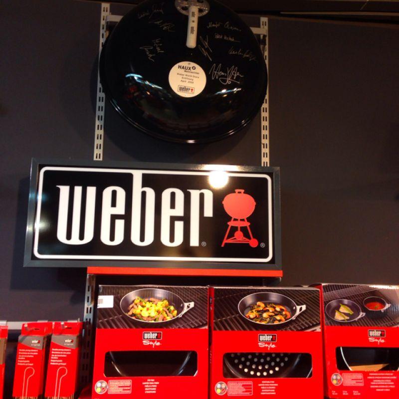 weber Grill - Gasgrill - HAUX Wohntextilien - Reutlingen
