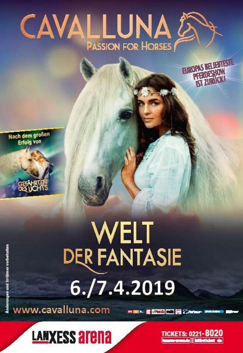 CAVALLUNA / Lanxess arena / Show: Welt der Fantasie