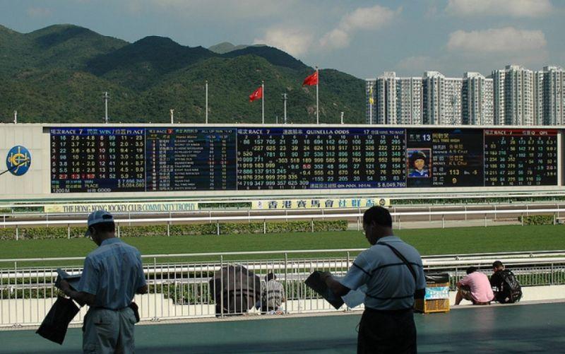 - (c) https://www.flickr.com/photos/antikmakler/4603881148  The Hong Kong Jockey Club.  Klick by Lucien Wende